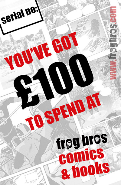 FROG BROS COMICS AND BOOKS £100 GIFT CARD