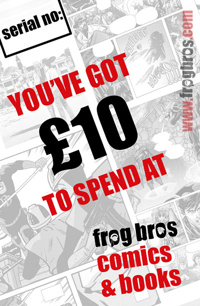 FROG BROS COMICS AND BOOKS £10 GIFT CARD