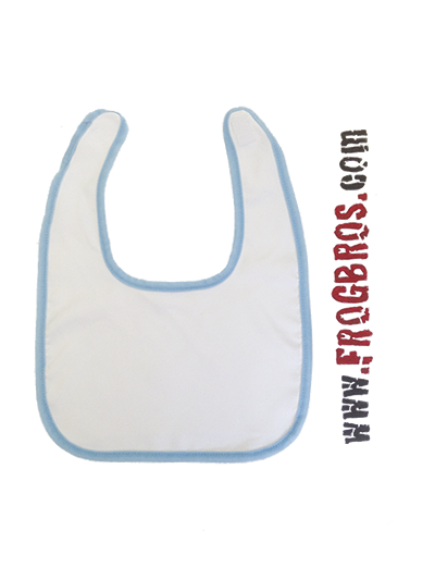 SUBLIMATION CUSTOM BABY BIB