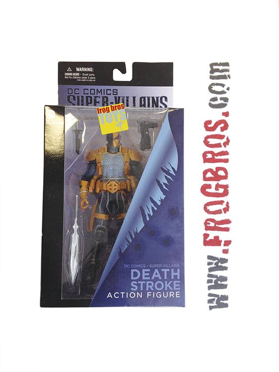 DC COMICS SUPER VILLAINS DEATHSTROKE AF   FROG BROS COMICS