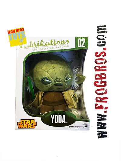 FABRIKATIONS YODA SOFT SCULPT PLUSH FIG