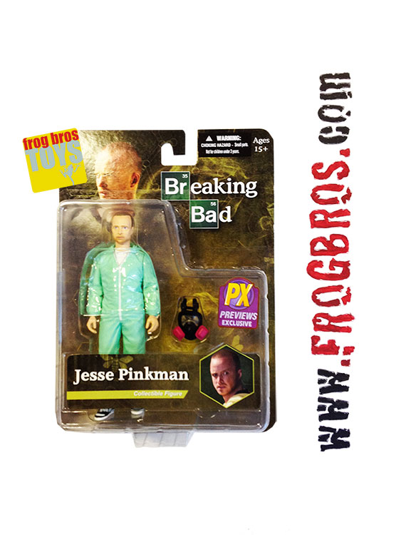 Breaking Bad Jesse Pinkman Px Blue Hazmat 6 In Af