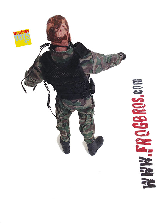 Zombie Army Trooper Frog Bros Comics And Books